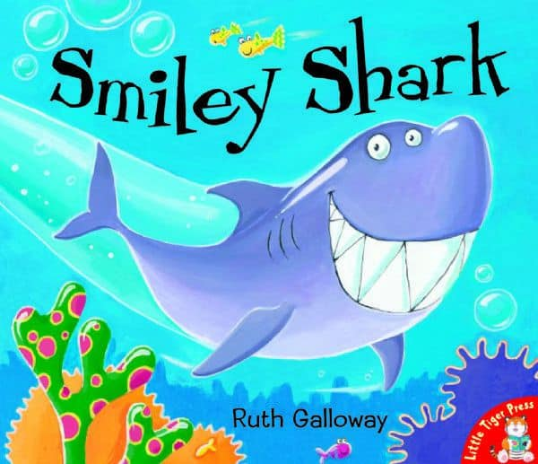 Smiley Shark - underwater books for toddlers