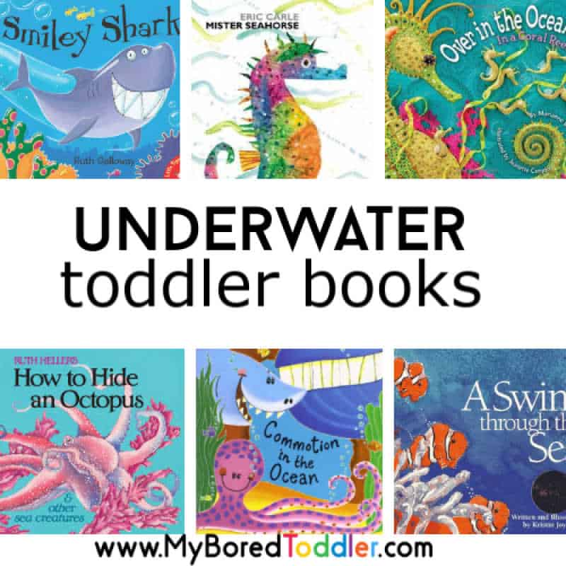 Underwater books for toddlers square