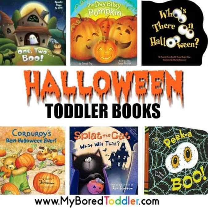 Halloween toddler books square
