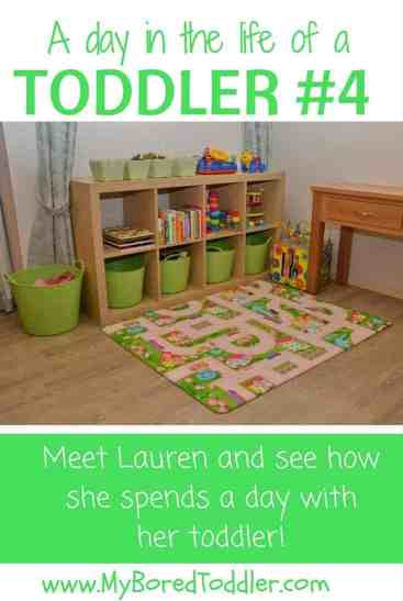 a day in the life of a toddler 4 lauren