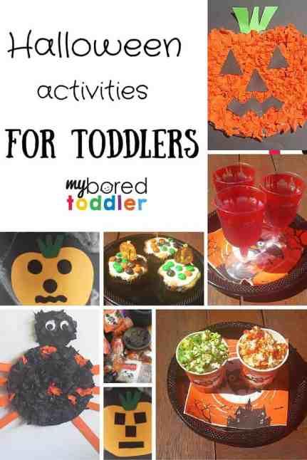 Halloween activities for toddlers pinterest