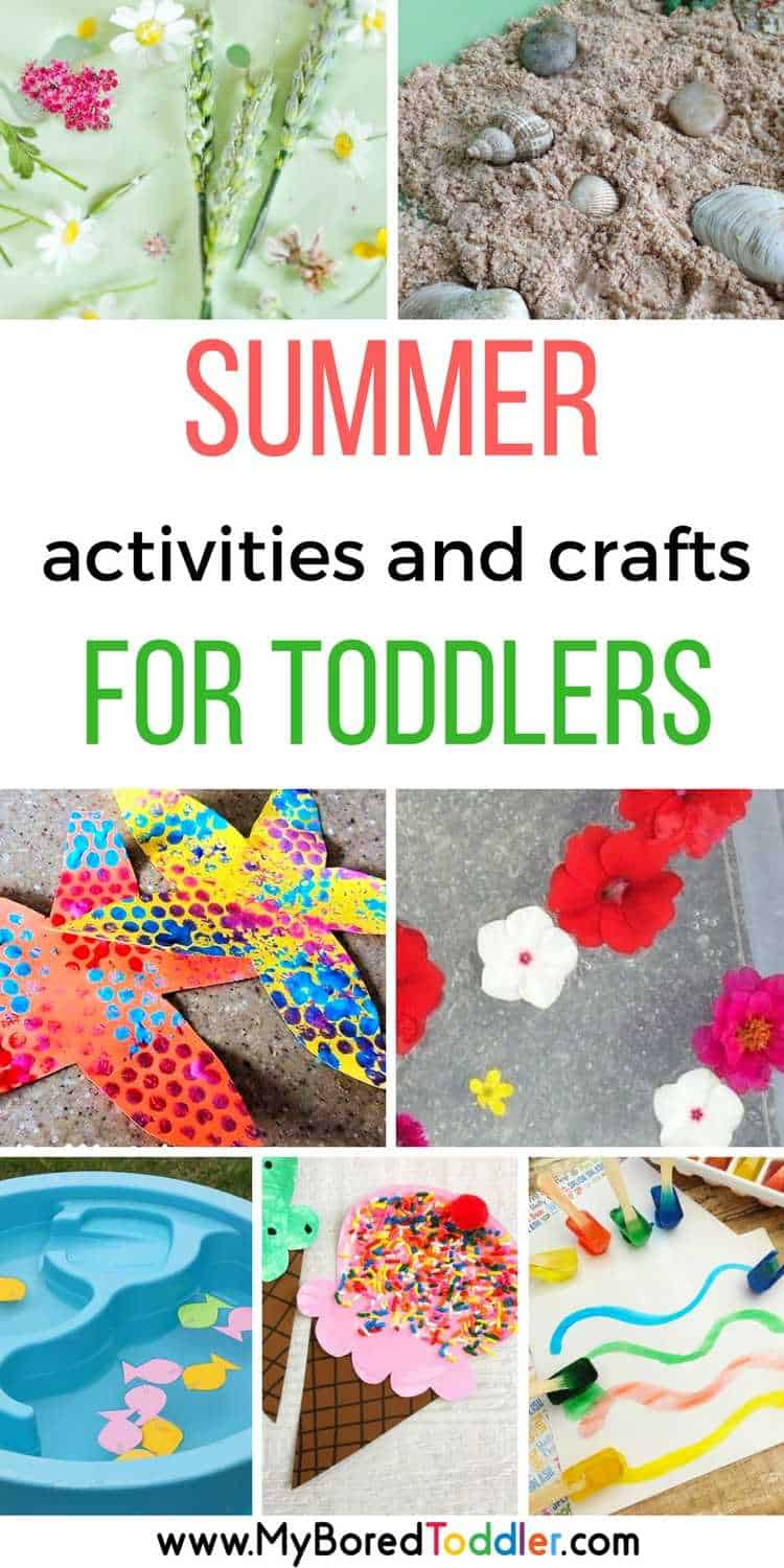 Summer Activities For Toddlers My Bored Toddler