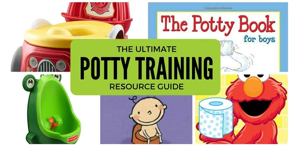 How to start potty training – a resource guide!