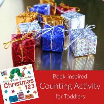 toddler counting activity christmas