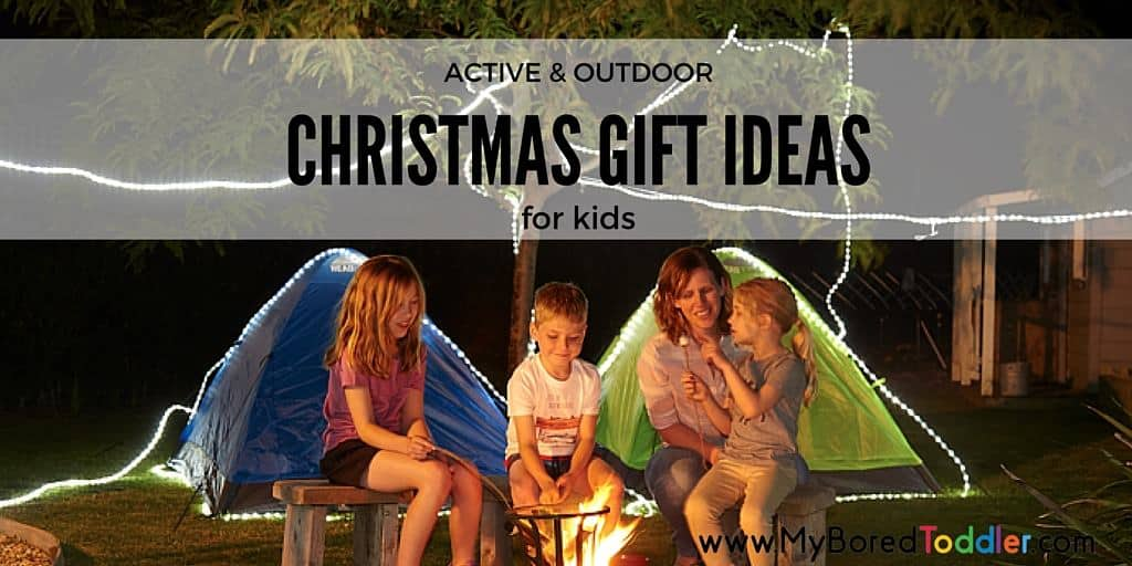 Active and outdoor gifts for kids
