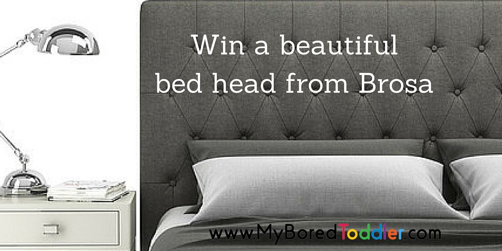 Win a designer bed head from Brosa