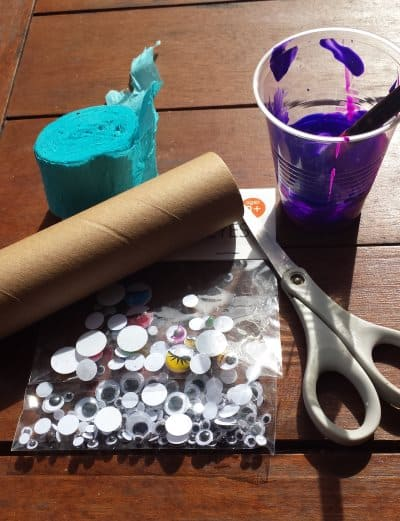 Toddler Craft Activity - Octopus and Jellyfish
