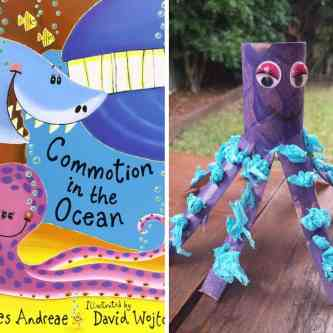 Toddler Craft Activity - Octopus