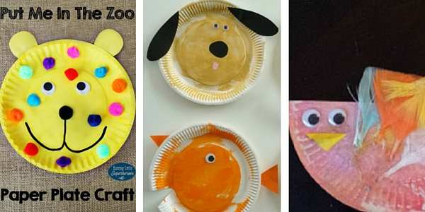 paper plate crafts for toddlers 1