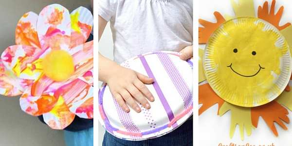 paper plate crafts for toddlers 2