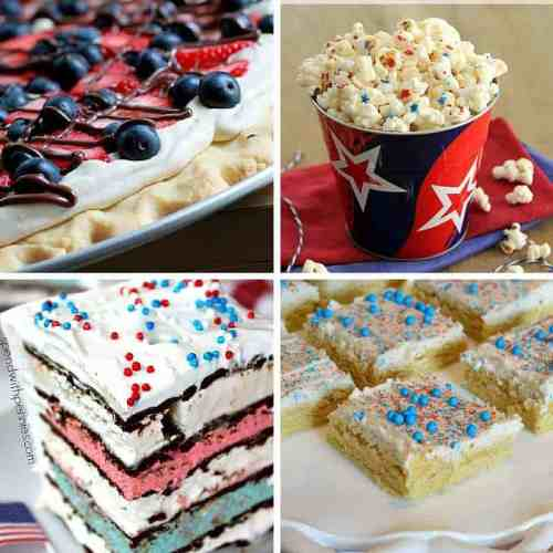 red white and blue sweets and treats 1