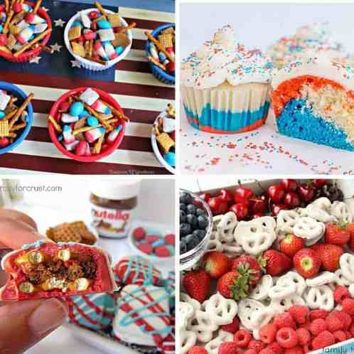 red white and blue sweets and treats 5