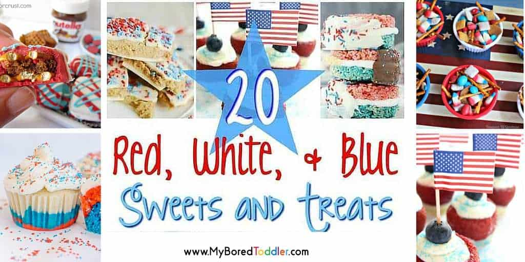 Red, White & Blue Sweets and Treats