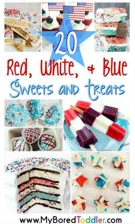 red white and blue sweets and treats pinterest final