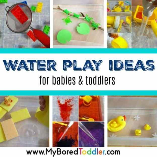water play ideas for babies and toddlers feature