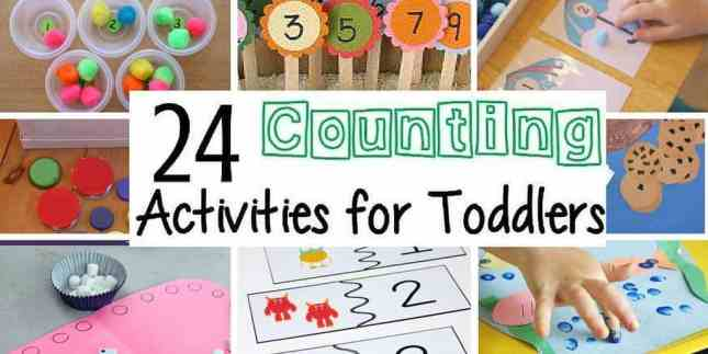 Toddler Counting Activities feature
