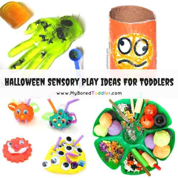 Halloween Sensory Play Ideas for Toddlers - Instagram