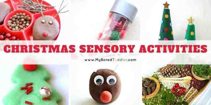 Christmas sensory play activities toddlers