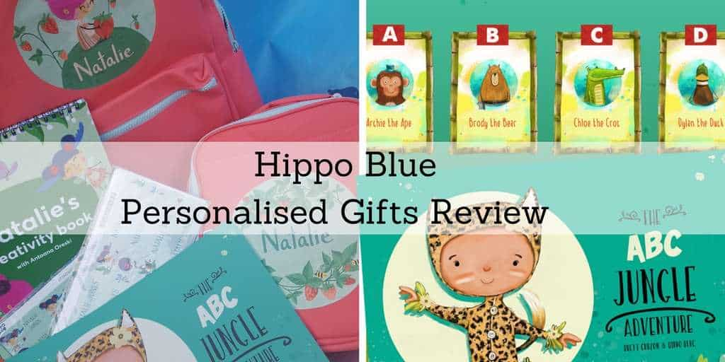 Hippo Blue Personalised Gifts