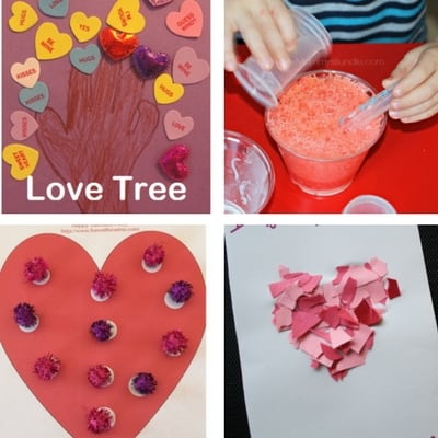 Toddler crafts for valentine's day 4