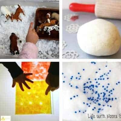 winter sensory play for toddlers 1