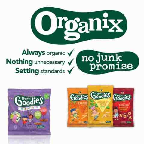 toddler snacking tips organix no junk promise