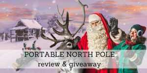 Portable North Pole Review & Giveaway