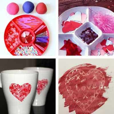 valentine's day heart crafts for toddlers