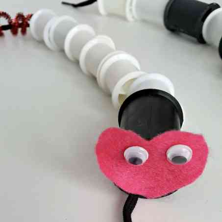 lacing wiggly worm fine motor activity