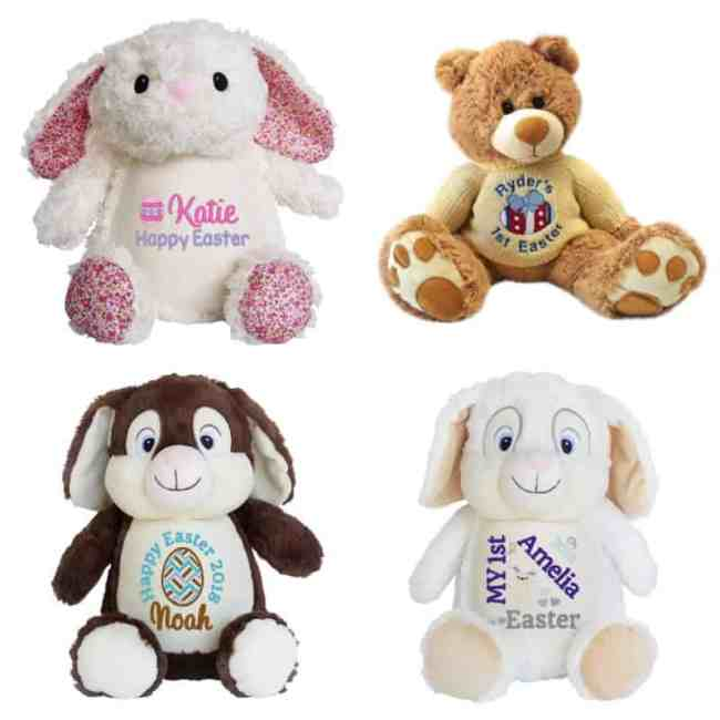 Personalised Easter Teddy Bears My Teddy