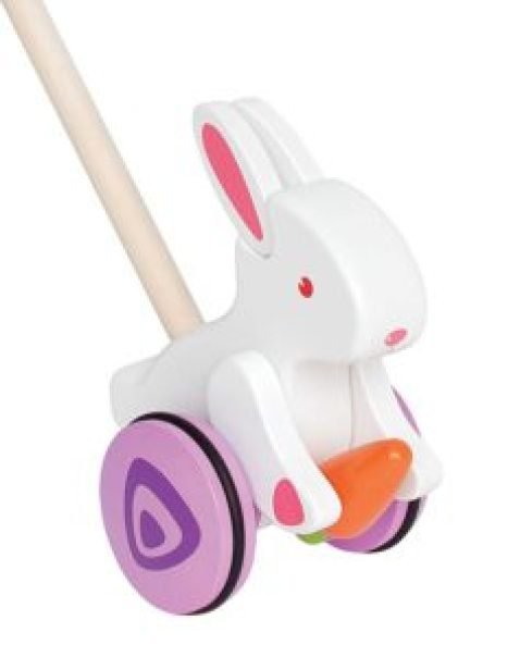 bunny walker toy non chocolate gifts for toddlers Easter
