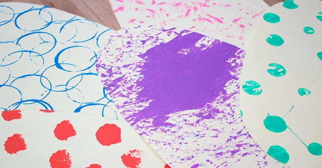Easter Egg Process Paintings for Toddlers