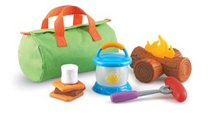 camping play set toddlers