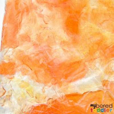 Fall Toddler sensory bag image 3