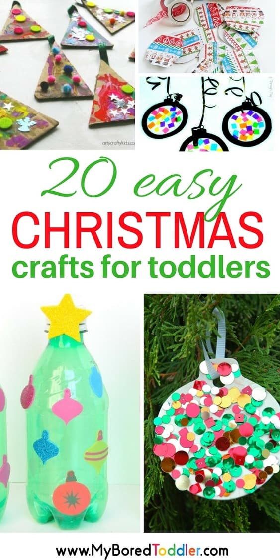 Pinterest Christmas Crafts.20 Easy Christmas Crafts For Toddlers Pinterest My Bored