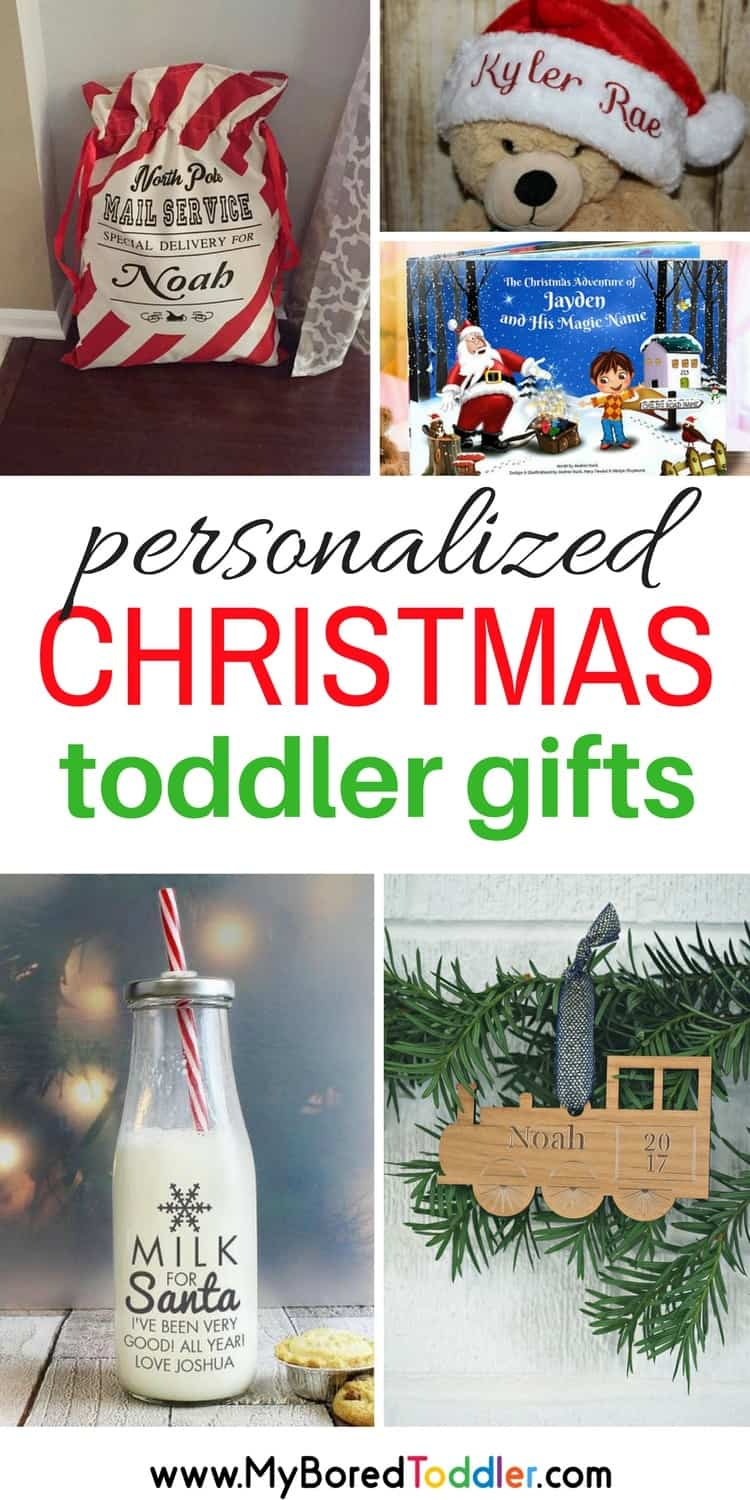 Gift ideas for personalized Christmas gift for toddlers #toddlers #toddlergifts #toddlerchristmas #baby #Christmasgifts