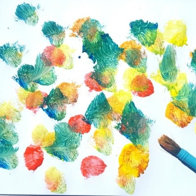 how to paint with a toddler feature