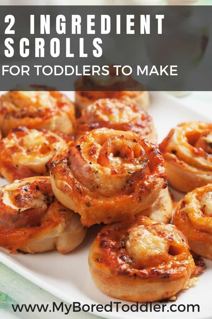 2 INGREDIENT SCROLLS FOR TODDLERS TO MAKE PINTEREST