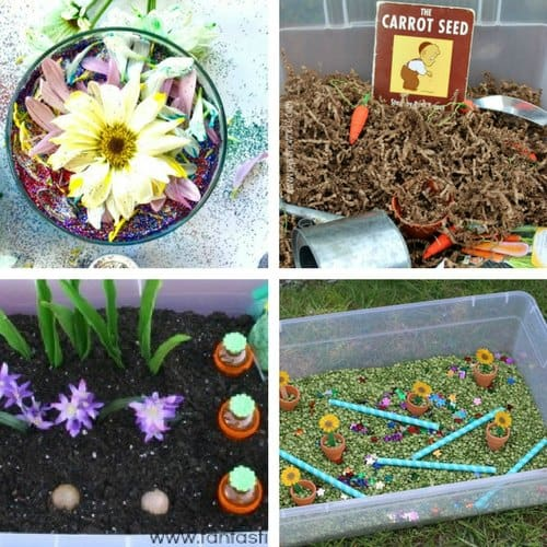 Spring Sensory Bins for Toddlers image 3