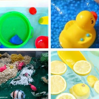 summer sensory bins for toddlers 1