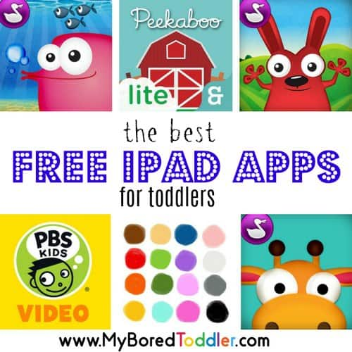 Best FREE Toddler Apps for iPad