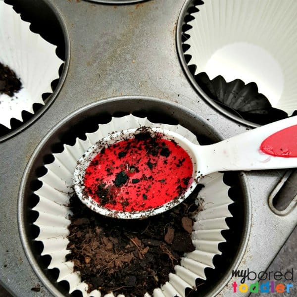 invitation to play with mud and dirt sensory play for toddlers