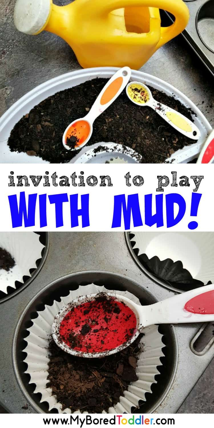 invitation to play with mud pinterest