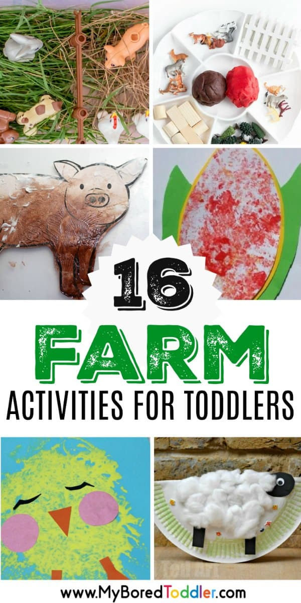 Farm Activities For Toddlers My Bored Toddler