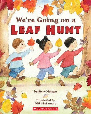 We're going on a leaf hunt best toddler books about Fall or autumn