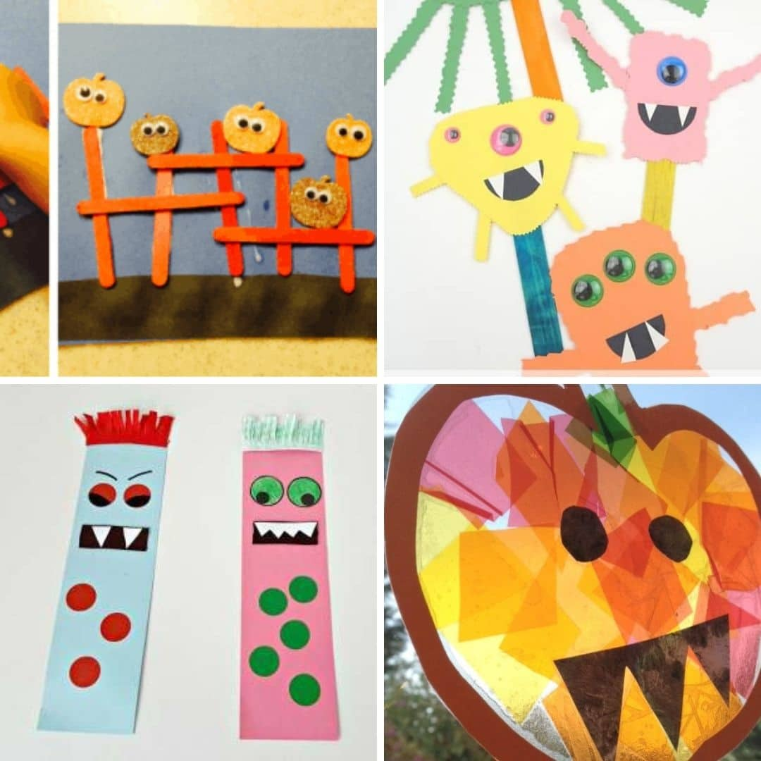 halloween crafts for toddlers 5
