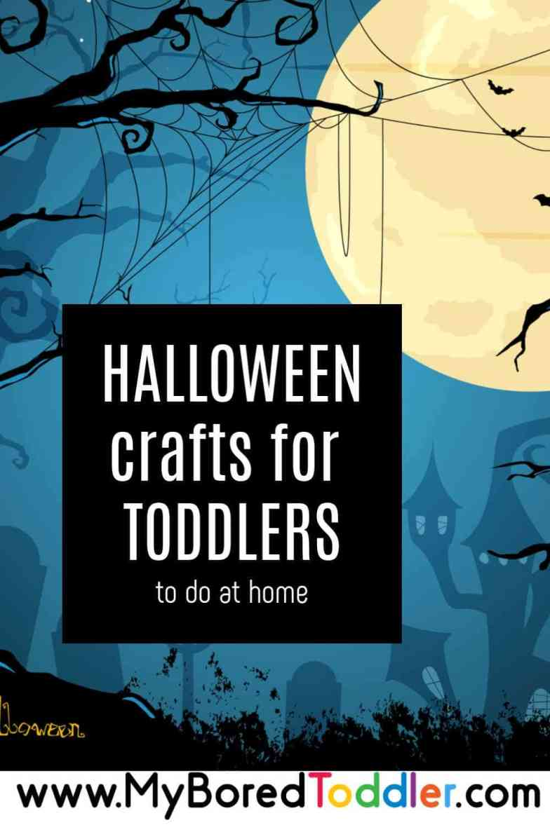 Halloween craft ideas for toddlers and preschoolers