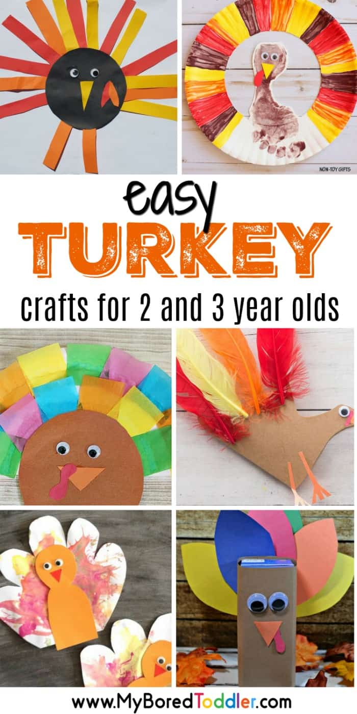 easy turkey crafts for 2 and 3 year olds turkey crafts for toddlers