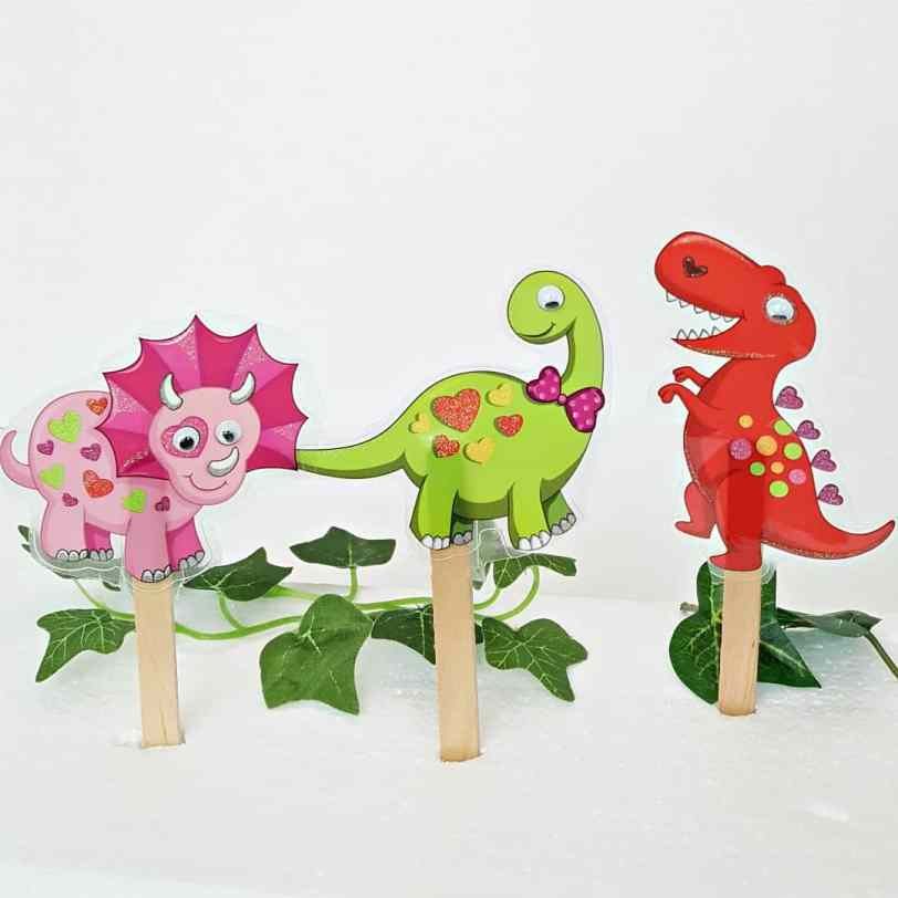 Craft stick puppets for toddler pretend pl