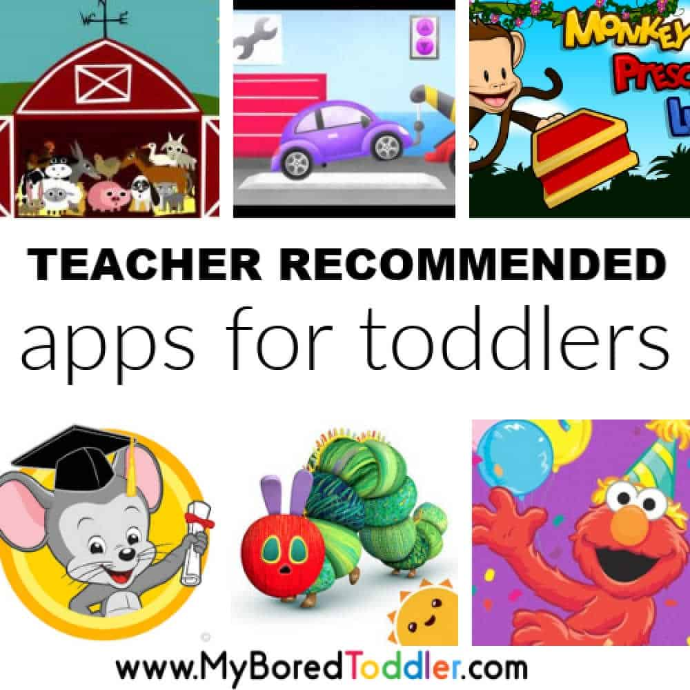 - 20 Best Apps For Toddlers 2020 - My Bored Toddler
